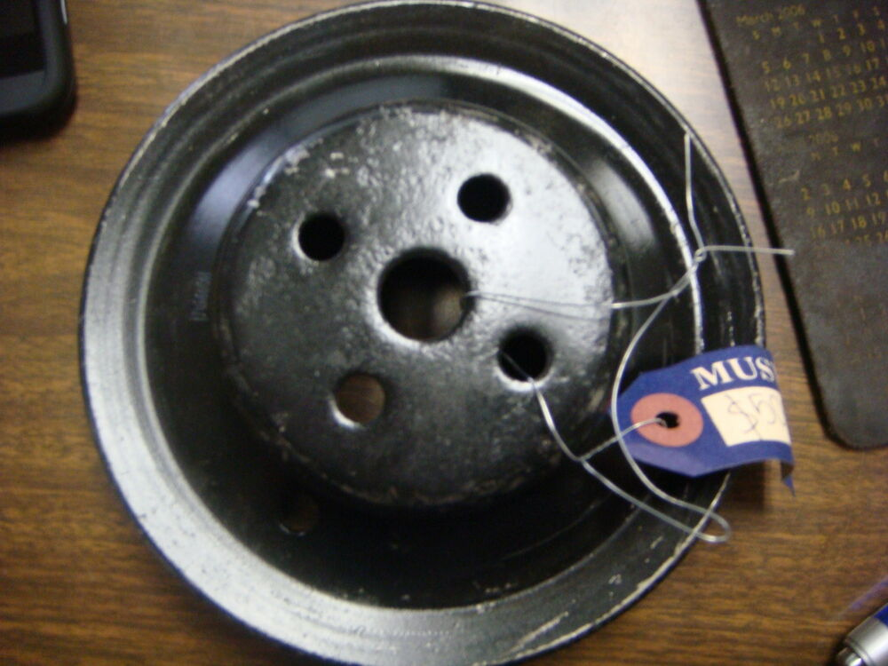 Ford Mustang Accessories >> ORIGINAL 65 - 66 FORD mustang 260 289 v8 WATER PUMP PULLEY | eBay