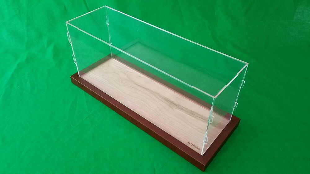 Acrylic Box Table : X inch table top acrylic display case model ships