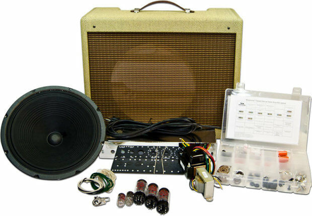 Bass Guitar Amp Kit : mojotone tweed deluxe amp kit tube vintage amplifier combo ebay ~ Russianpoet.info Haus und Dekorationen