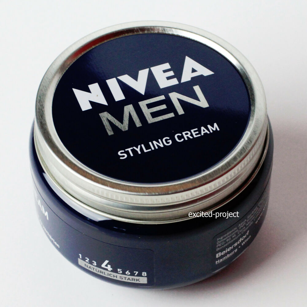 NIVEA Men Hair Styling Cream  Ideal For Perfect Hairstyle  150 ml / 5.07 fl
