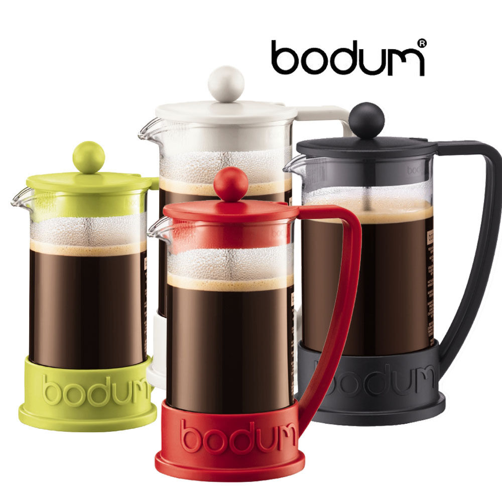 bodum brazil french press coffee herbal tea maker 8 cup or 3 cup ebay. Black Bedroom Furniture Sets. Home Design Ideas