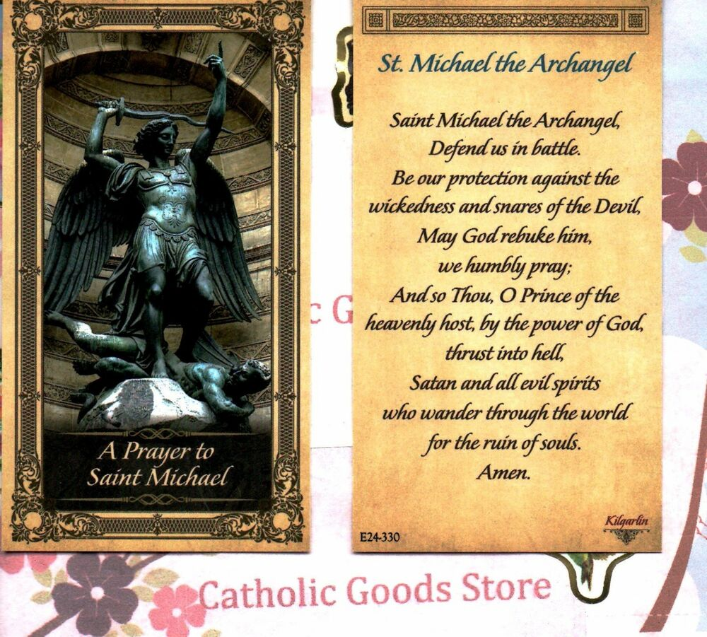 essay on st michael the archangel Saint michael, the archangel  catholic stand is an e-publication presenting essays and creative non-fiction.