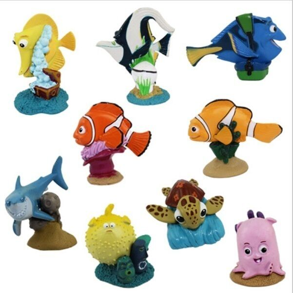 Finding Nemo Toys : Finding nemo marlin dory playset figure cake topper