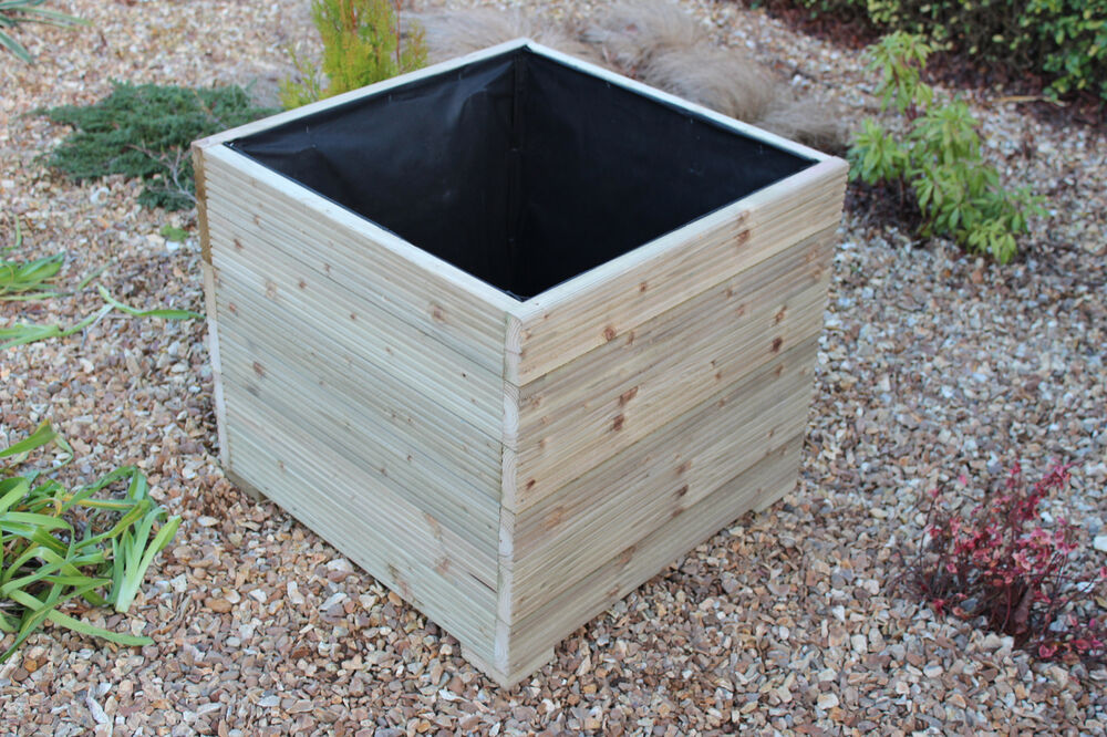 how to build a large planter box for bamboo