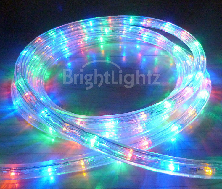 Ebay Outdoor Xmas Lights: MULTICOLOUR LED ROPE LIGHT OUTDOOR LIGHTS CHASING STATIC