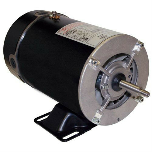 1 hp 3450 1725 rpm 48y frame 115v 2 speed pool spa motor for 1 2 hp pool motor