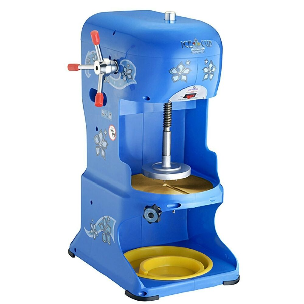 New Premium Quality Shaved Ice Cub Machine Commercial