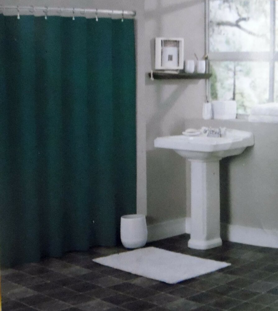 green shower liner