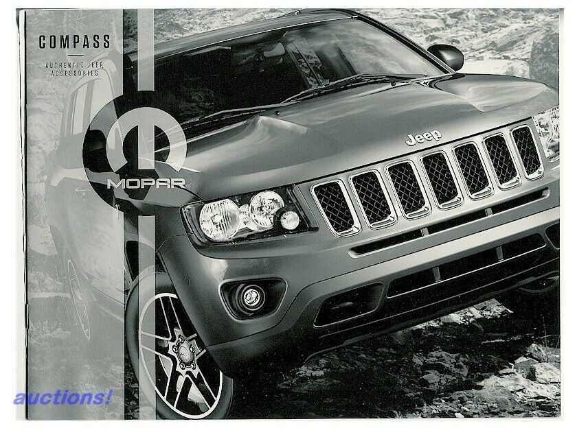 2014 14 39 jeep compass accessories prestige dealer brochure catalog. Cars Review. Best American Auto & Cars Review