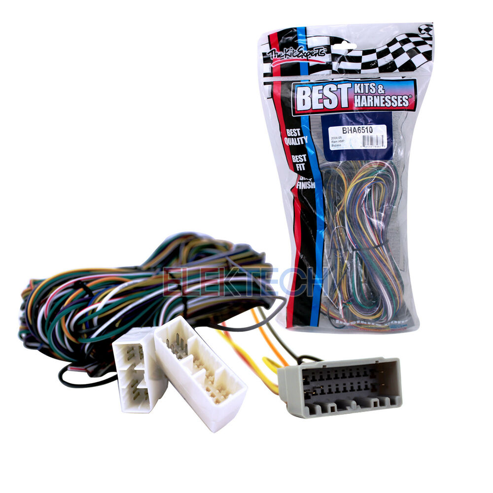 Best kits bha radio replacement amplifier bypass wire