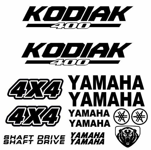 Yamaha Kodiak Graphics Kit