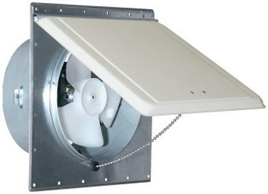 mobile home trailer 110v sidewall exhaust vent fan white mill ventline
