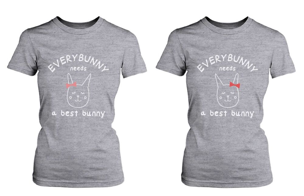 cute best friend shirts everybunny needs a best bunny
