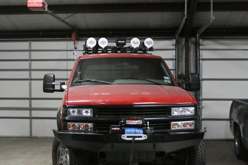 Custom Winch Bumper For Chevy Gmc Trucks 1988 1998 Made To