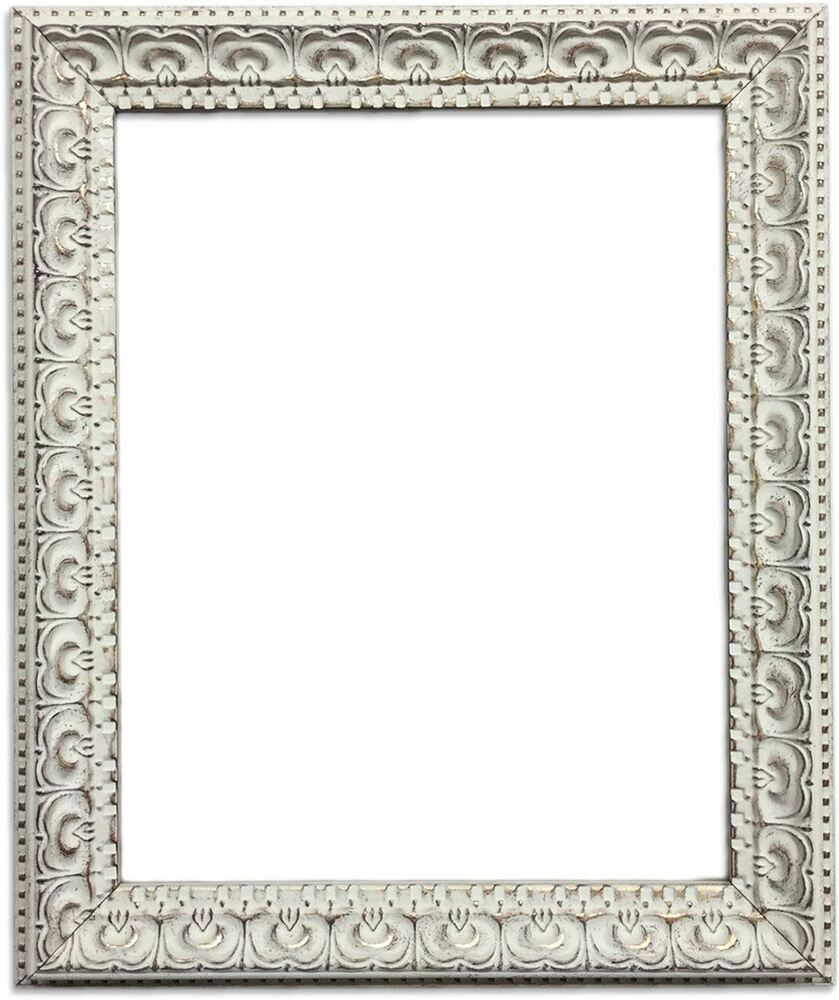 cream shabby chic photo picture frame ornate antique french style ebay. Black Bedroom Furniture Sets. Home Design Ideas