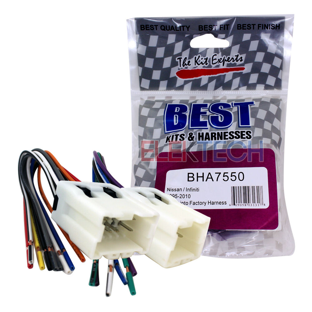 Bha7550 Aftermarket Radio Replacement Wire Harness For Nissan 2010 Xterra Wiring Diagram Infiniti 609098031318 Ebay