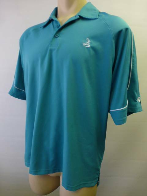 mens under armour short sleeve polo golf shirt teal green