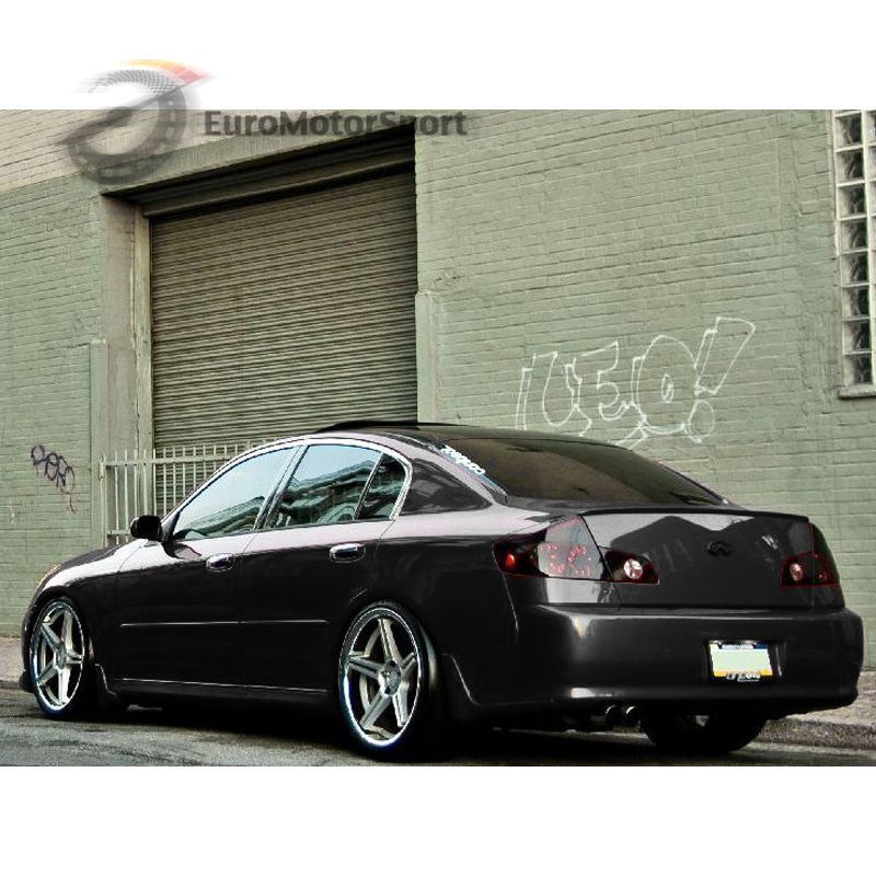 unpainted trunk lip spoiler wing for infiniti g35 g35x. Black Bedroom Furniture Sets. Home Design Ideas
