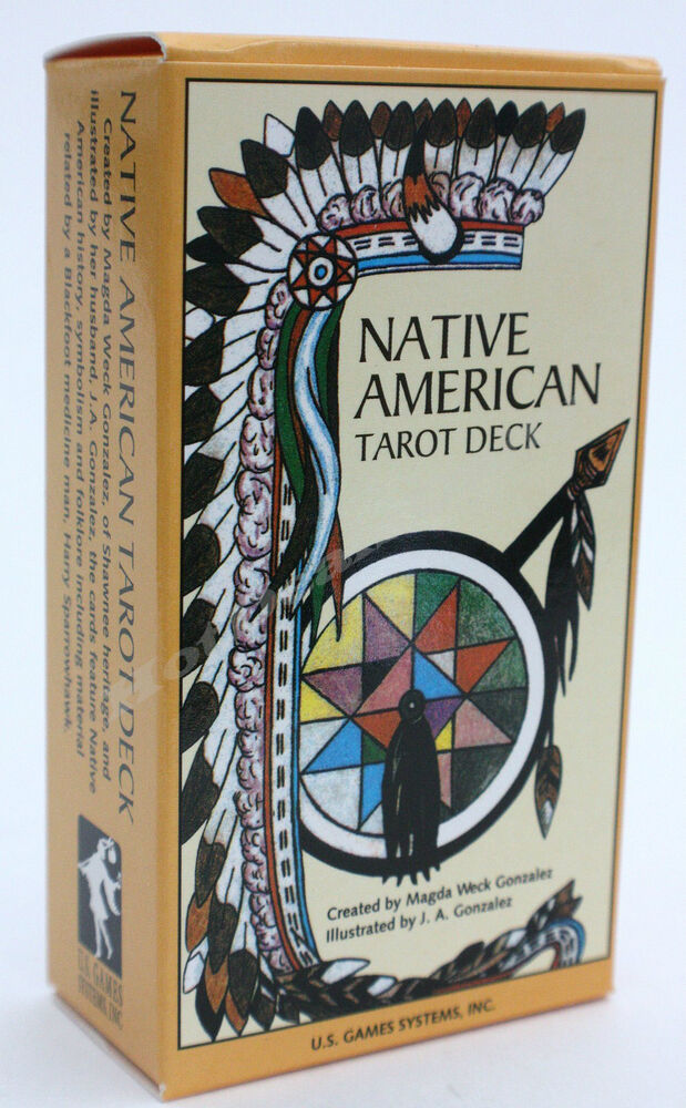 NATIVE AMERICAN 78 CARD TAROT DECK TRADITIONAL & NATIVE