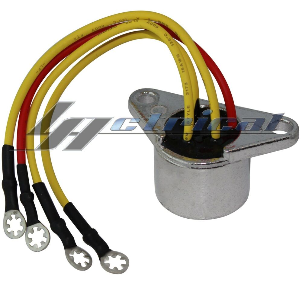 Rectifier Fits Omc Johnson Outboard 30hp 30 Hp Engine 1984
