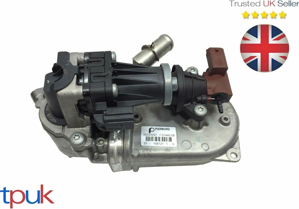 10 14 vauxhall corsa astra meriva 1 3 cdti complete egr valve cooler 55230929 ebay. Black Bedroom Furniture Sets. Home Design Ideas