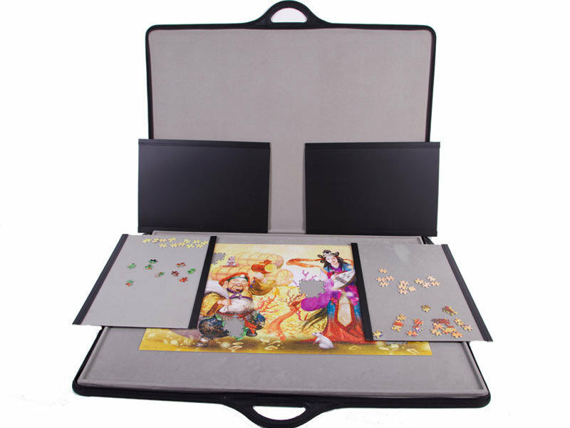Deluxe Jigsaw Puzzle Storage 1500 Pieces Board Carry Case