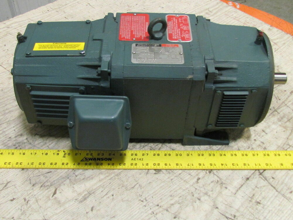 Reliance Electric Rpm Iii Dc Motor T18r1333 3 Hp Ac