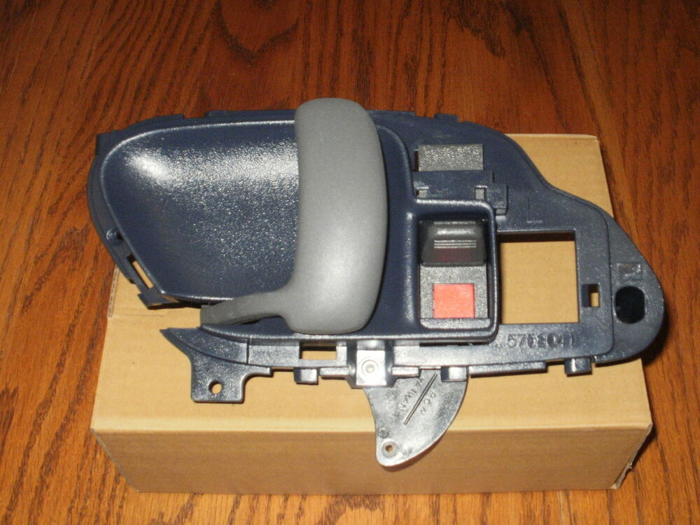 Chevy silverado interior inside driver door handle blue 1995 1996 1997 1998 1999 ebay for 1998 chevy tahoe interior parts