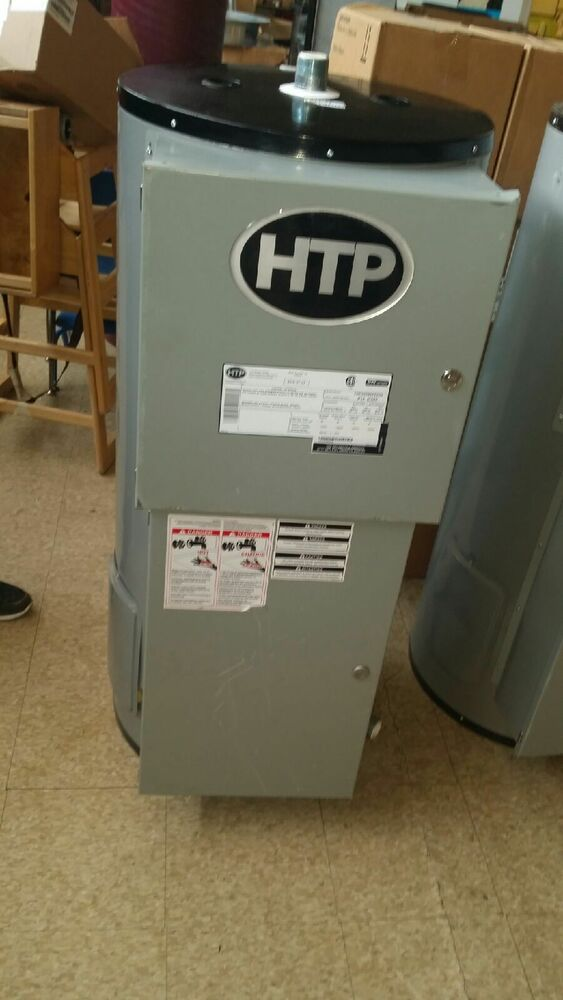 Htp Commercial Electric Glass Lined Water Heater Ebay