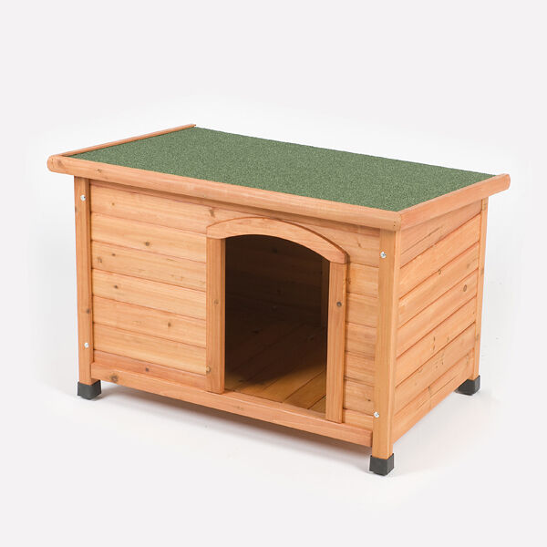 Barkshire traditional flat top heat resistant waterproof for Best deals on dog kennels