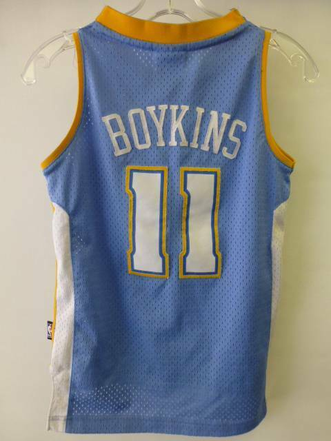 ac0204e2f youth Small 8 NBA Reebok Denver Nuggets Earl Boykins  11 Jersey sewn  stitched