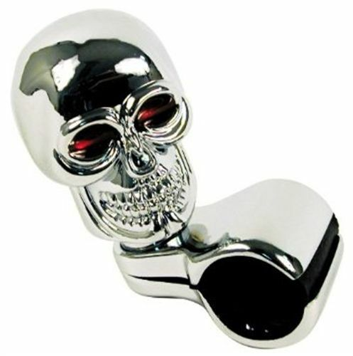 Custom Accessories Chrome Skull Style Truck Car Rv