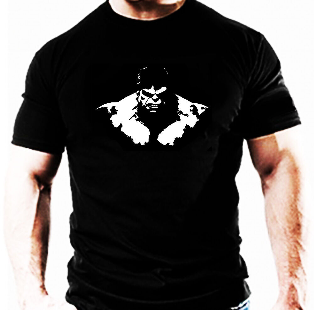 Hulk training gym t shirt casual bodybuilding wear workout for Best fitness t shirts
