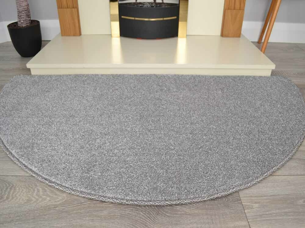 Half Semi Circle Moon Moons Circles Charcoal Rug Carpet