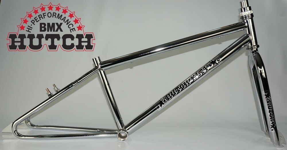 new HUTCH BMX XL24 CRUISER FRAME AND FORK, chrome | eBay