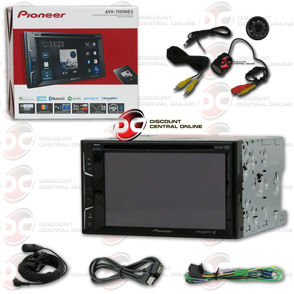 pioneer avh x4800bs 7 2din touchscreen dvd bluetooth stereo free back up camera ebay. Black Bedroom Furniture Sets. Home Design Ideas