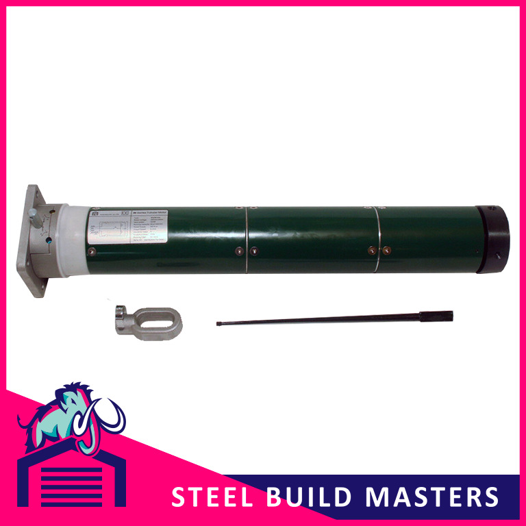 Metal Electric Tube Motor For Roller Shutter Doors up to approx 24sqm 300nm