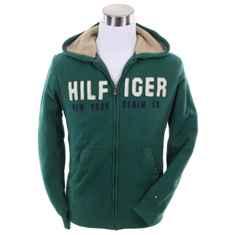 tommy hilfiger men sweat shirt sweater fleece hoodie full. Black Bedroom Furniture Sets. Home Design Ideas