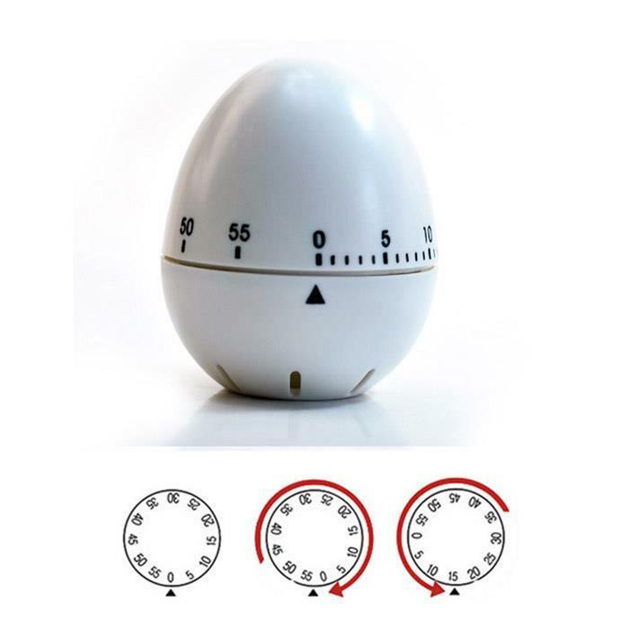Cute Kitchen Timer 1 Hour Mechanical Cook Cooking Count