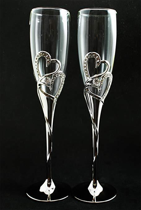 Crystal Champagne Glasses Ebay