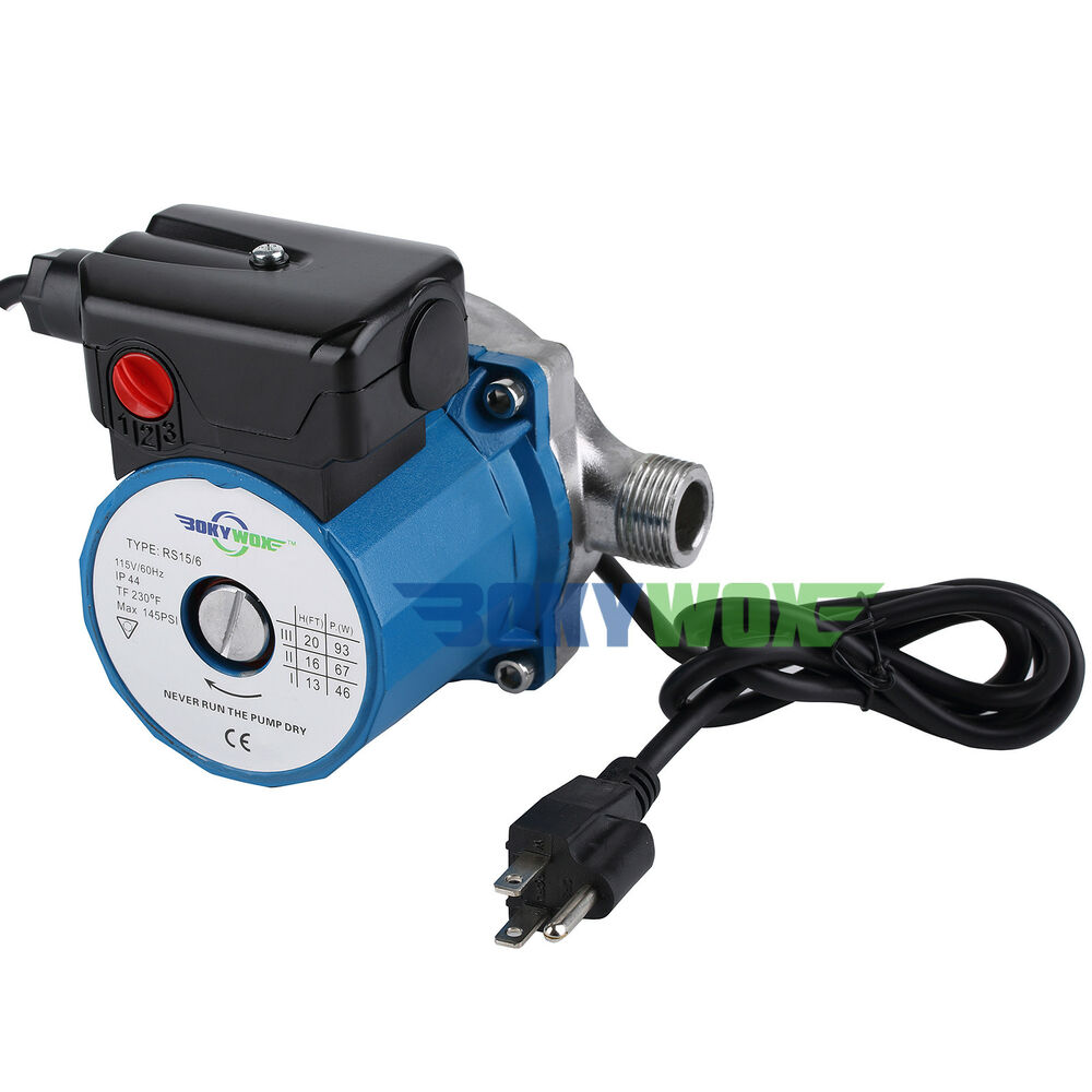 110v 120w Automatic Booster Pump Stainless Steel Domestic