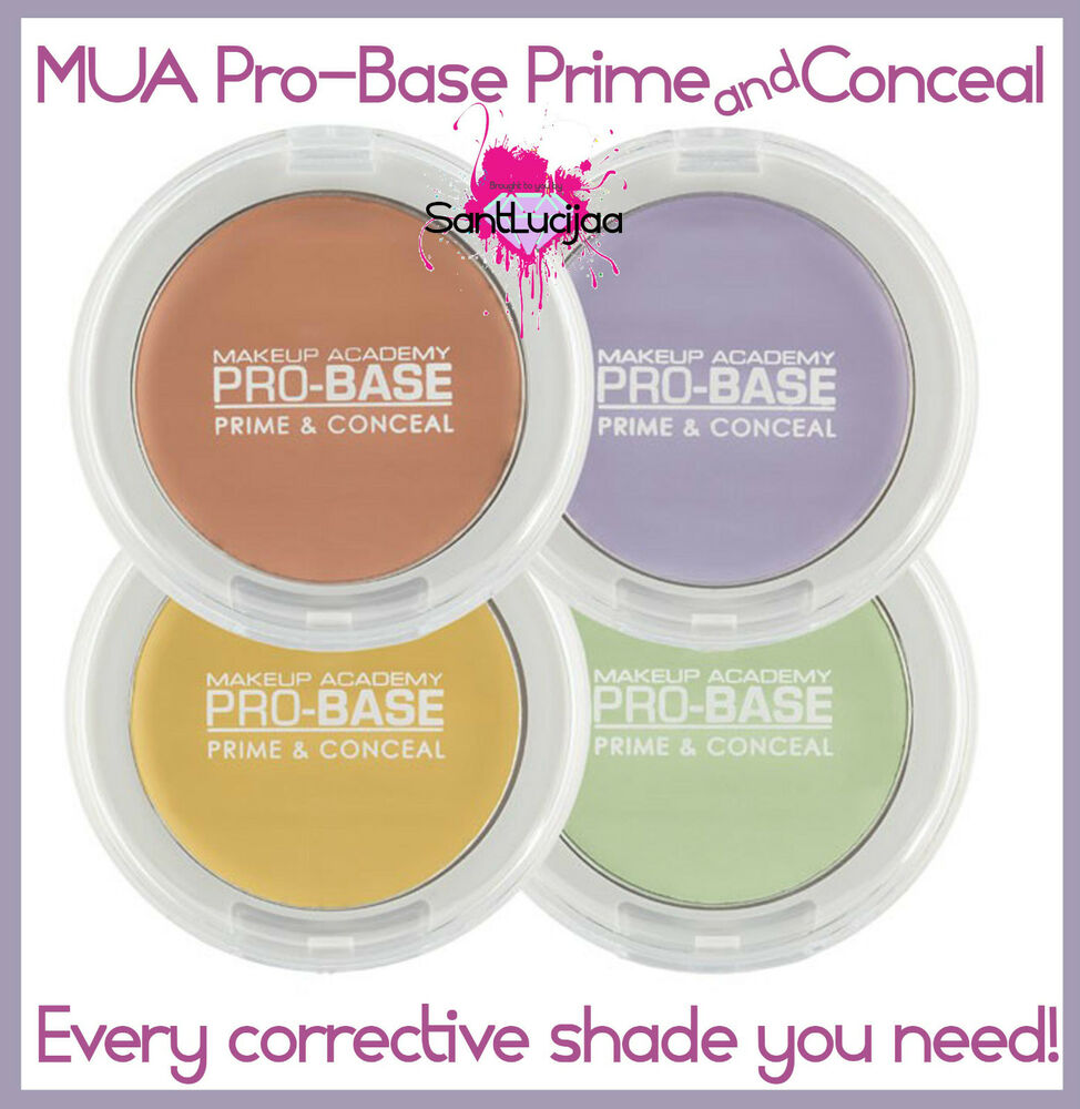Mua Makeup Academy Pro Base Prime And Conceal Concealer Corrective Make Up Yellow Green Ebay