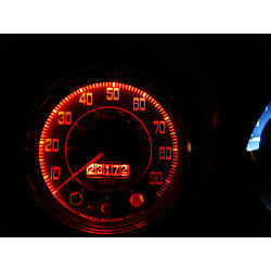 Austin Healey Frogeye Sprite Cambridge A40 LED Instrument Red Bulb Upgrade x2