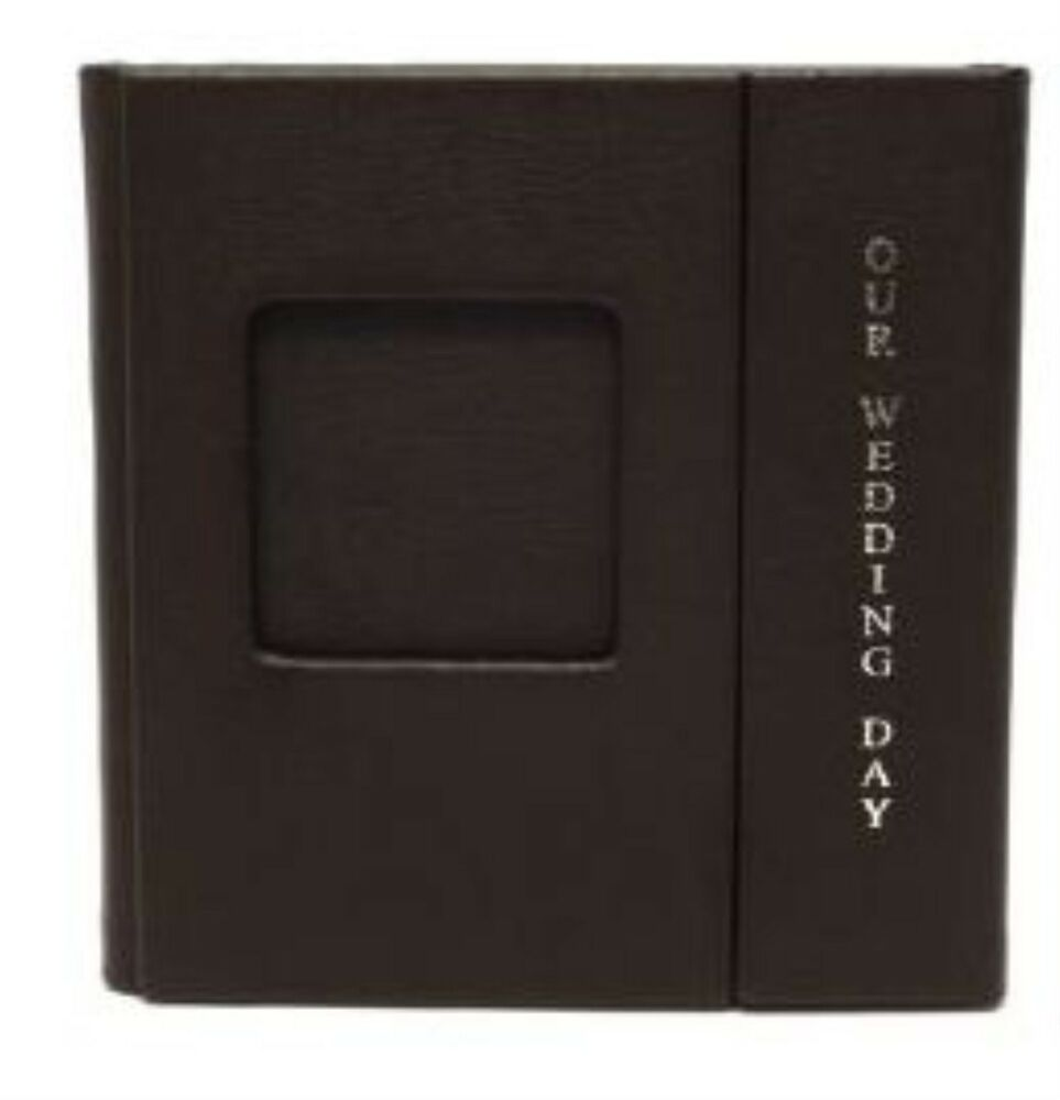 1 Large Double CD DVD Wedding Photo Album Case with Silver ...