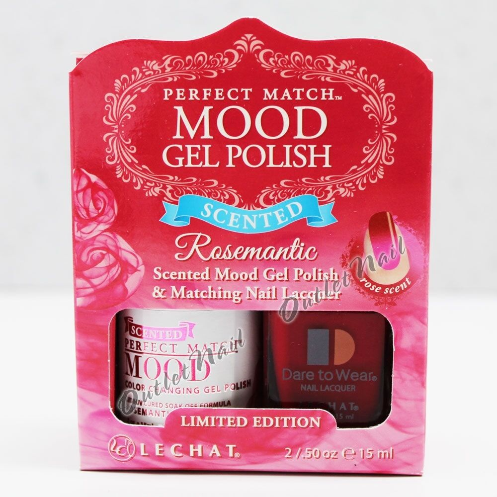 LeChat Perfect Match SCENTED MOOD Gel Polish & Lacquer Set