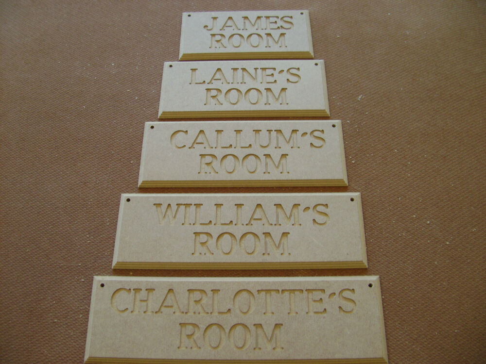 Room Name Plaques Hand Carved Wooden Plaques Made To Order
