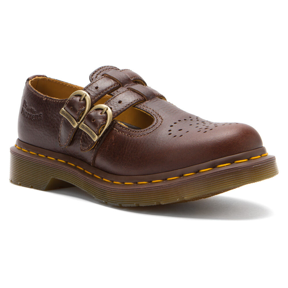 Dr martens women s double strap mary jane 8065 brown for Amazon dr martens