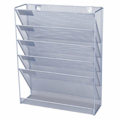 Office Depot Mesh Wall Literature Holder Magazine Hanging