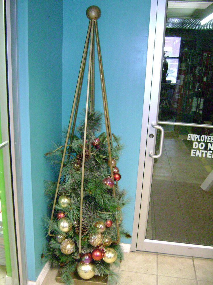 Ft modern metal art deco christmas tree