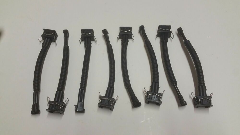 Fuel injector adapters delphi wire harness to ev lq